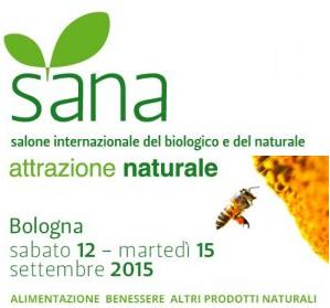 SANA 2015 dal 12 al 15 Settembre a Bologna