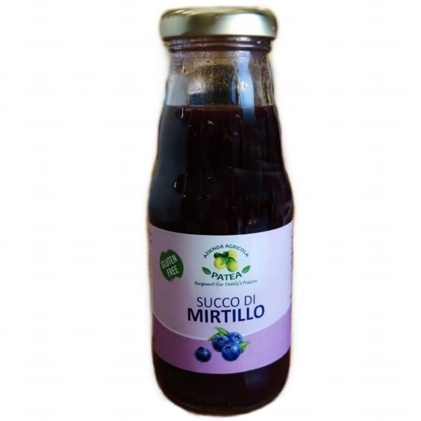 SUCCO DI MIRTILLO
