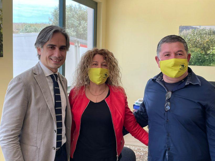 DELEGAZIONE DELLA CITTA' METROPOLITANA DI REGGIO CALABRIA IN VISITA PRESSO L'AZIENDA PATEA- BERGAMOTTO